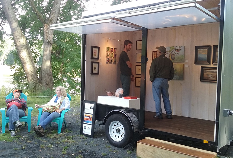 Mobile Art Gallery Call for Artists